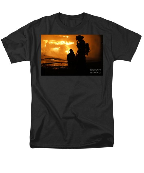 Through The Flames Men's T-Shirt  (Regular Fit) by Benanne Stiens