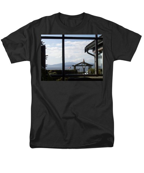 Men's T-Shirt  (Regular Fit) featuring the photograph Through The Looking Glass by Mary Mikawoz