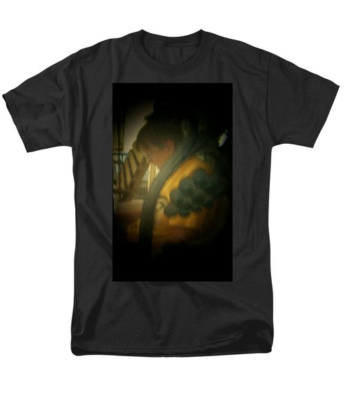 Through The Screen Door Men's T-Shirt  (Regular Fit) by Lenore Senior