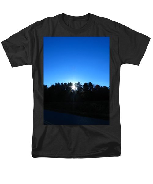 Through The Trees Brightly Men's T-Shirt  (Regular Fit)