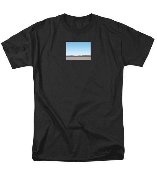Thw Little San Bernardino Mountains Men's T-Shirt  (Regular Fit) by Stan  Magnan