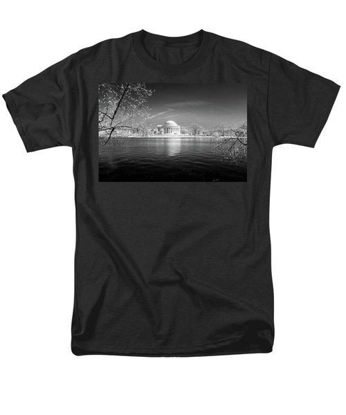 Tidal Basin Jefferson Memorial Men's T-Shirt  (Regular Fit) by Paul Seymour