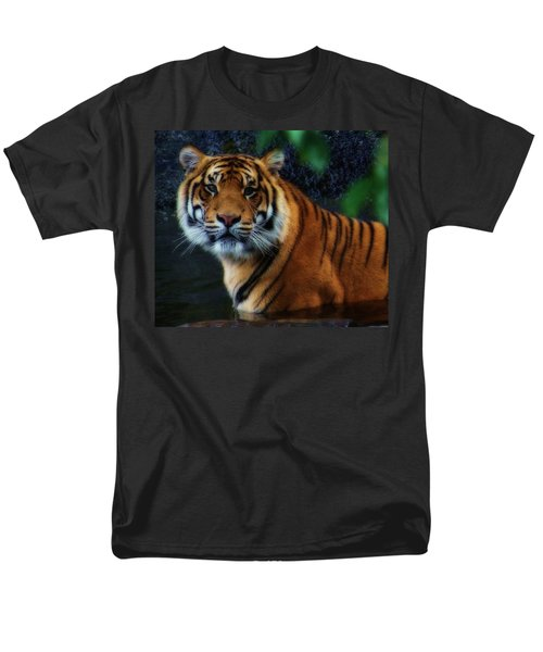 Tiger Land Men's T-Shirt  (Regular Fit)