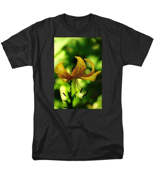 Tiger Lily Men's T-Shirt  (Regular Fit) by Debbie Oppermann