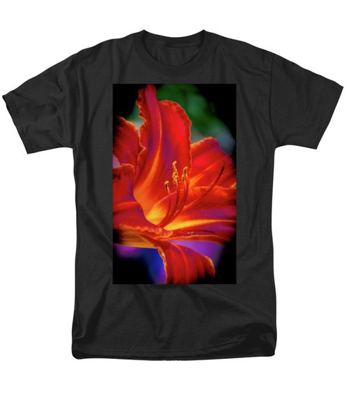 Tiger Lily Men's T-Shirt  (Regular Fit) by Mark Dunton