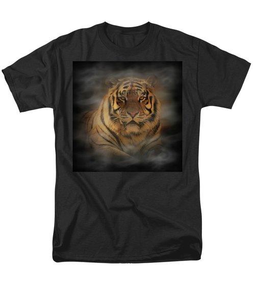 Tiger Men's T-Shirt  (Regular Fit) by Sandy Keeton