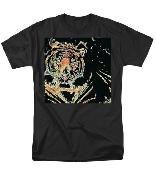 Tiger Tiger Men's T-Shirt  (Regular Fit) by Stephanie Grant