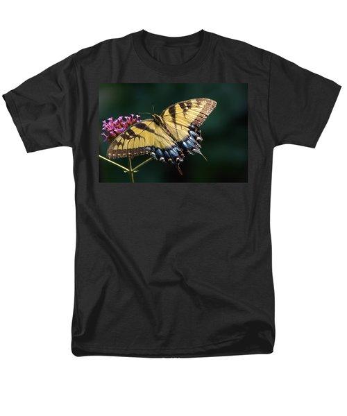 Men's T-Shirt  (Regular Fit) featuring the photograph Tigress And Verbena by Byron Varvarigos