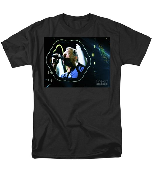 Chris Martin - A Head Full Of Dreams Tour 2016  Men's T-Shirt  (Regular Fit) by Tanya Filichkin