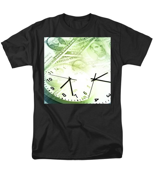 Time Is Money  Men's T-Shirt  (Regular Fit) by Les Cunliffe