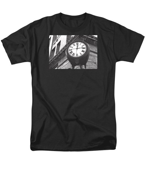 Men's T-Shirt  (Regular Fit) featuring the photograph Time Keeps Ticking by Rebecca Davis
