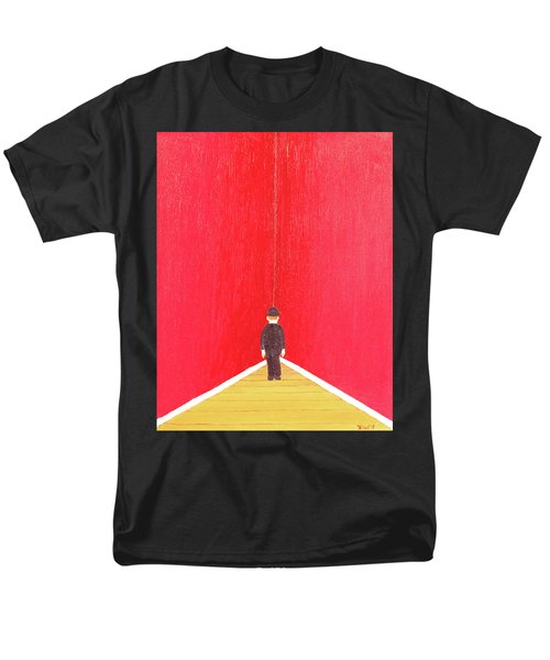 Men's T-Shirt  (Regular Fit) featuring the painting Timeout by Thomas Blood