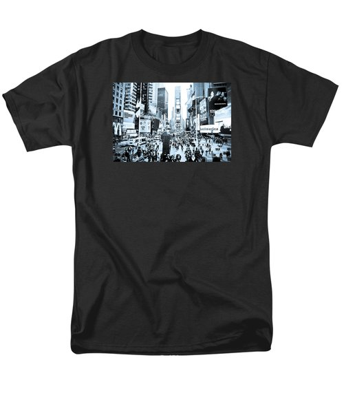 Times Square Men's T-Shirt  (Regular Fit) by Perry Van Munster