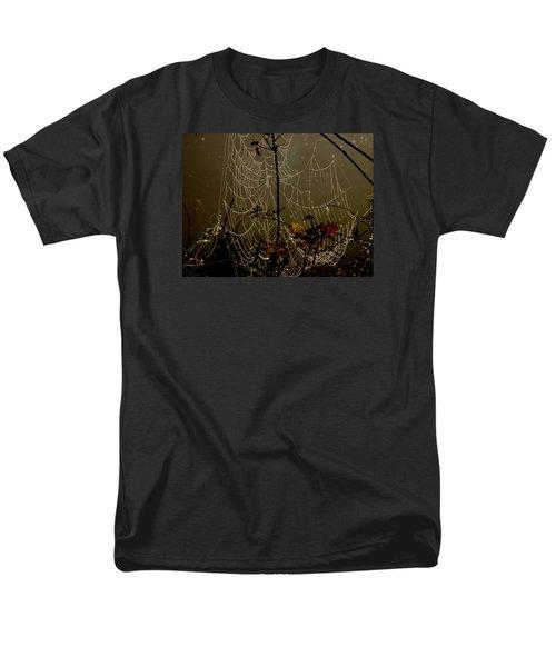 Orb Lites Men's T-Shirt  (Regular Fit) by Laura Ragland