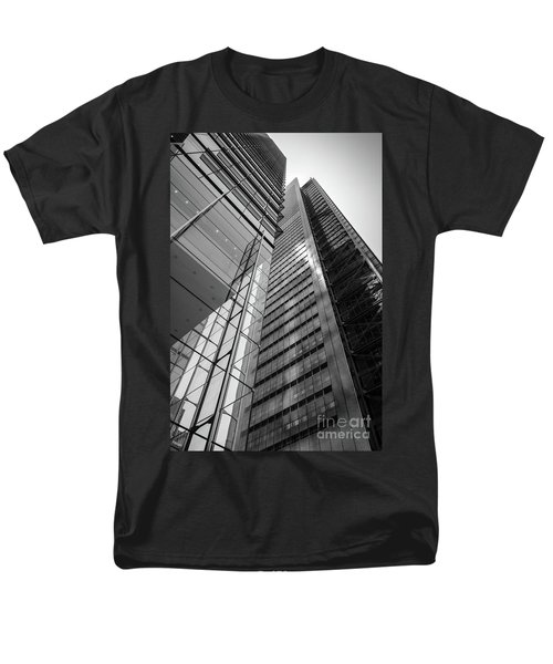 Men's T-Shirt  (Regular Fit) featuring the photograph To The Top   -27870-bw by John Bald