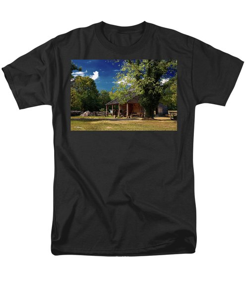 Tobacco Barn Men's T-Shirt  (Regular Fit) by Christopher Holmes