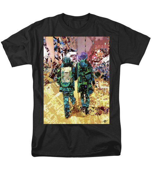 Men's T-Shirt  (Regular Fit) featuring the painting Together by Tony Rubino