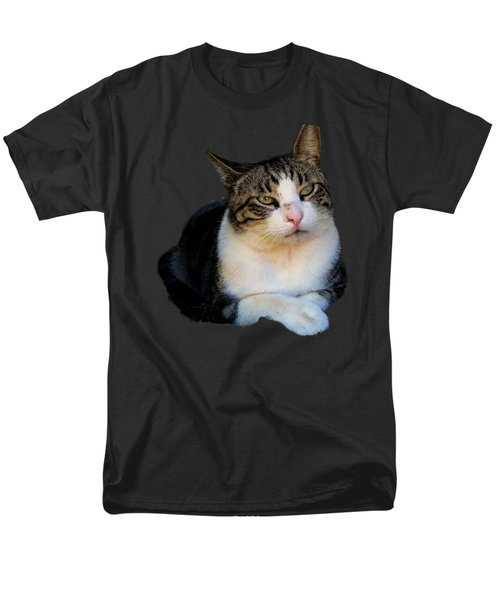 Tom Cat Men's T-Shirt  (Regular Fit) by Pamela Walton