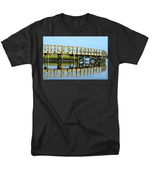 Topsail Island Walk Men's T-Shirt  (Regular Fit)