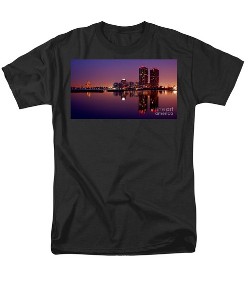 Toronto Cracking Dawn Men's T-Shirt  (Regular Fit) by Joe  Ng