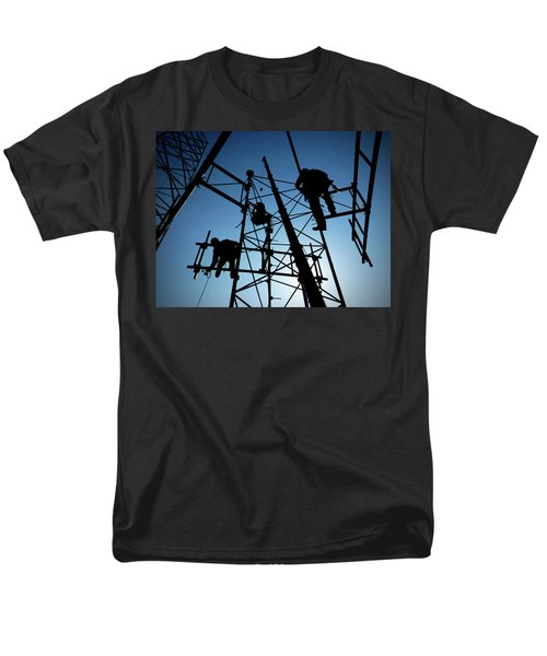 Tower Tech Men's T-Shirt  (Regular Fit) by Robert Geary