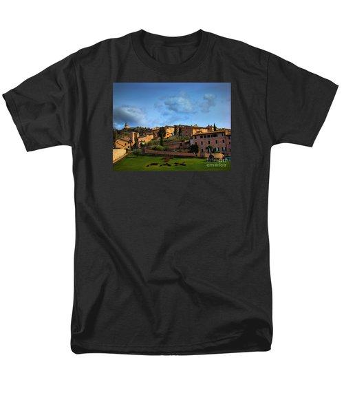 Town Of Assisi, Italy II Men's T-Shirt  (Regular Fit) by Al Bourassa