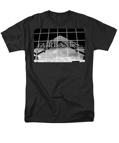 Men's T-Shirt  (Regular Fit) featuring the photograph Train Station by Tara Lynn