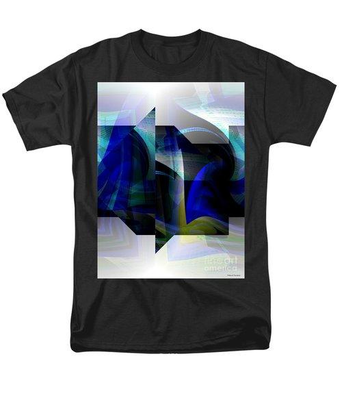 Geometric Transparency  Men's T-Shirt  (Regular Fit) by Thibault Toussaint