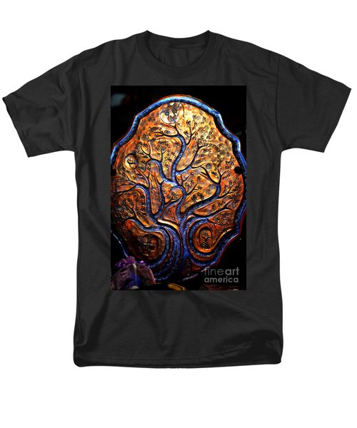 Men's T-Shirt  (Regular Fit) featuring the ceramic art Tree Of Life by Susanne Still