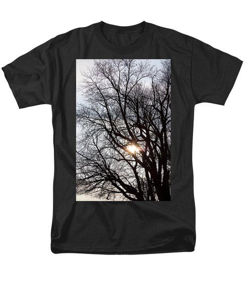 Men's T-Shirt  (Regular Fit) featuring the photograph Tree With A Heart by James BO Insogna