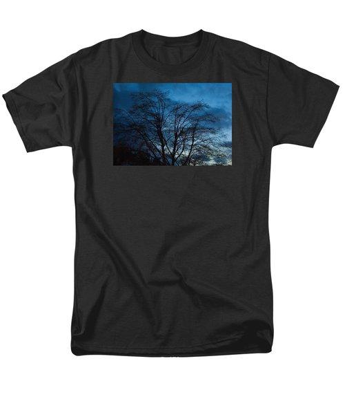 Trees At Dusk Men's T-Shirt  (Regular Fit) by John Rossman