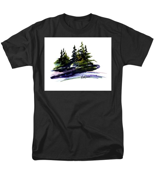Men's T-Shirt  (Regular Fit) featuring the painting Trees by Marti Green