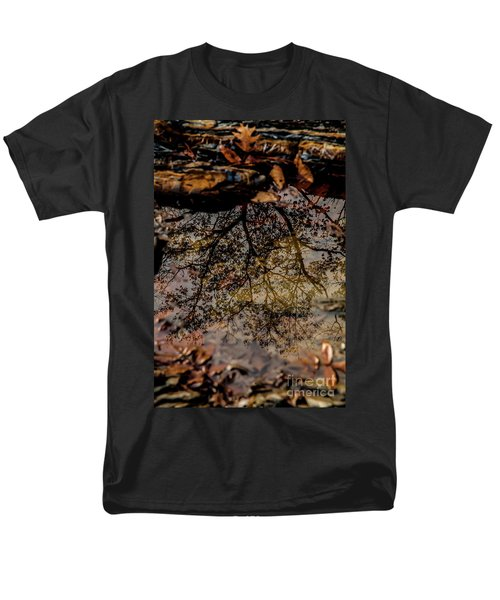 Men's T-Shirt  (Regular Fit) featuring the photograph Tree's Reflection by Iris Greenwell