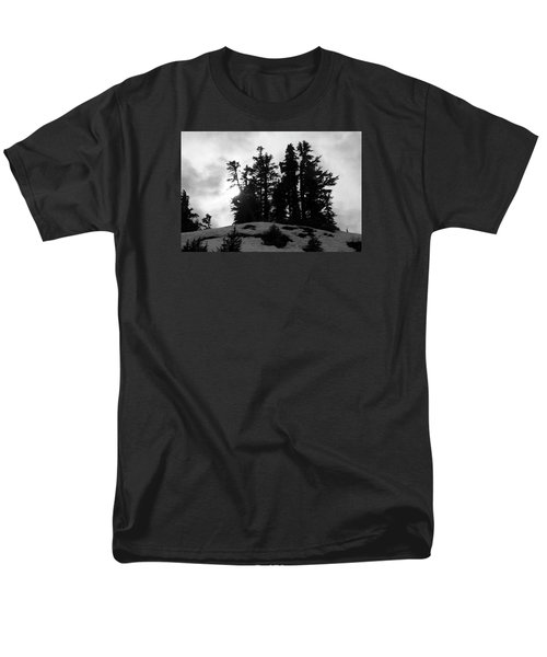 Trees Silhouettes Men's T-Shirt  (Regular Fit) by Yulia Kazansky