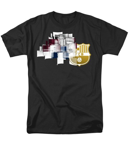 Tribute To Fc Barcelona 6 Men's T-Shirt  (Regular Fit) by Alberto RuiZ