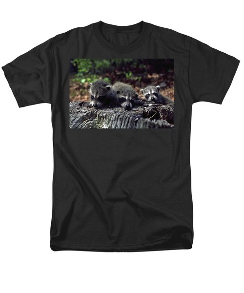 Triplets Men's T-Shirt  (Regular Fit) by Sally Weigand