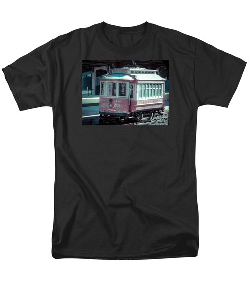 Men's T-Shirt  (Regular Fit) featuring the photograph The Trolley by Melissa Messick