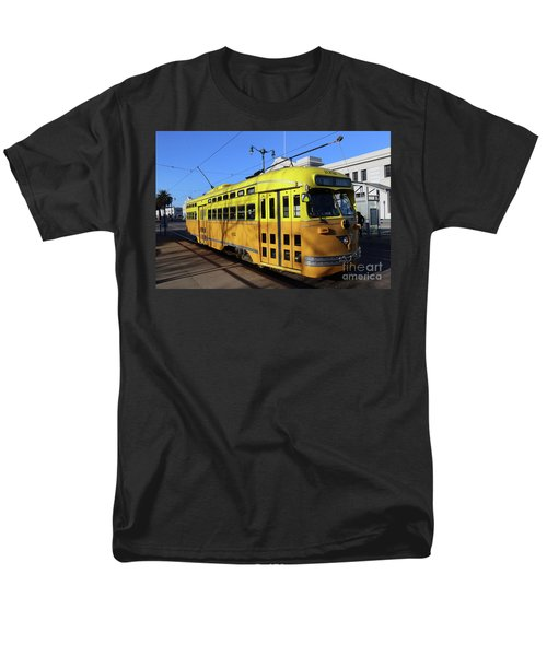 Men's T-Shirt  (Regular Fit) featuring the photograph Trolley Number 1052 by Steven Spak