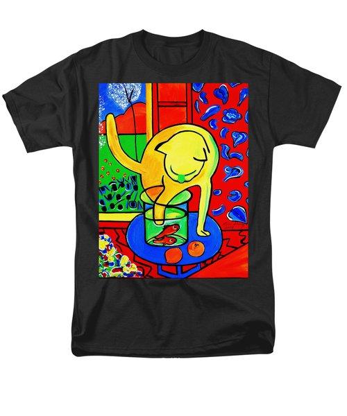 Trouble Men's T-Shirt  (Regular Fit) by Nora Shepley