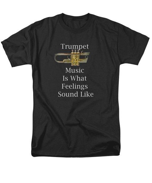 Trumpet Is What Feelings Sound Like 5583.02 Men's T-Shirt  (Regular Fit)