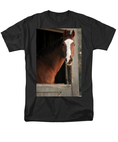 Men's T-Shirt  (Regular Fit) featuring the photograph T's Window by Angela Rath