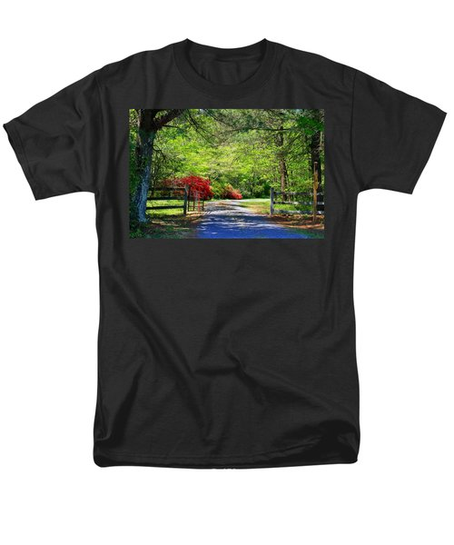Men's T-Shirt  (Regular Fit) featuring the photograph Tucked Away by Kathryn Meyer
