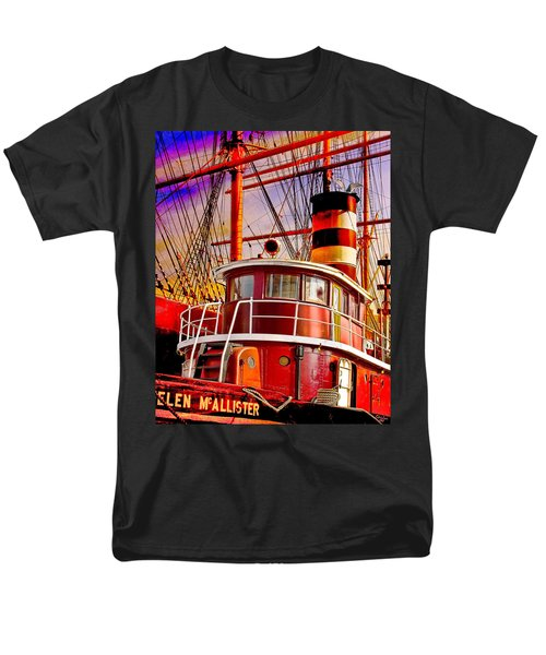 Men's T-Shirt  (Regular Fit) featuring the photograph Tugboat Helen Mcallister by Chris Lord