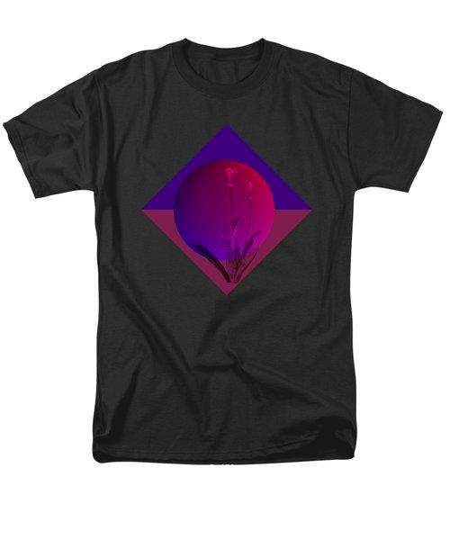 Tulip Abstract Men's T-Shirt  (Regular Fit) by Nancy Pauling