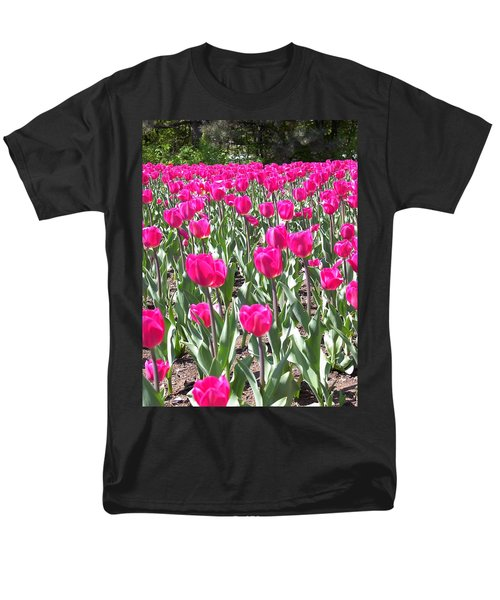 Men's T-Shirt  (Regular Fit) featuring the photograph Tulips by Mary-Lee Sanders
