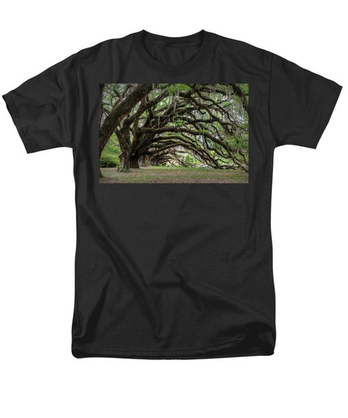 Men's T-Shirt  (Regular Fit) featuring the photograph Tunnel In Charleston by Jon Glaser