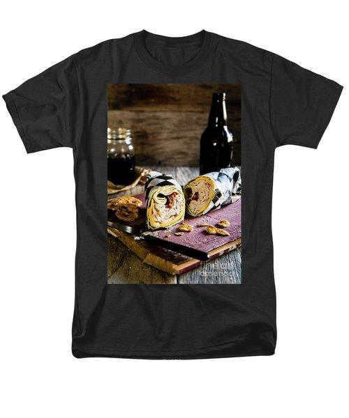 Men's T-Shirt  (Regular Fit) featuring the photograph Turkey Bacon Wrap 2 by Deborah Klubertanz