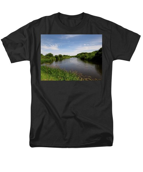 Men's T-Shirt  (Regular Fit) featuring the photograph Turtle Creek by Kimberly Mackowski