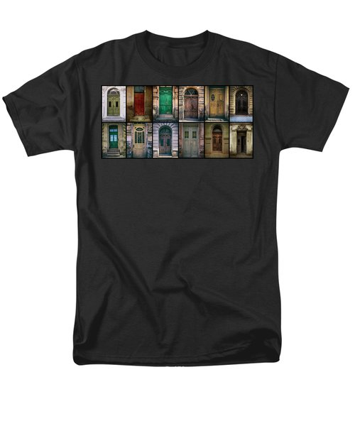 Men's T-Shirt  (Regular Fit) featuring the photograph Twelve Gates Of My Hometown by Jaroslaw Blaminsky