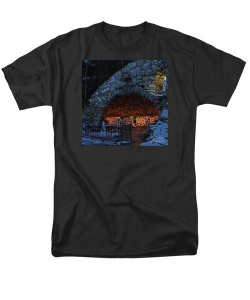 Twilight Grotto Prayer Men's T-Shirt  (Regular Fit)